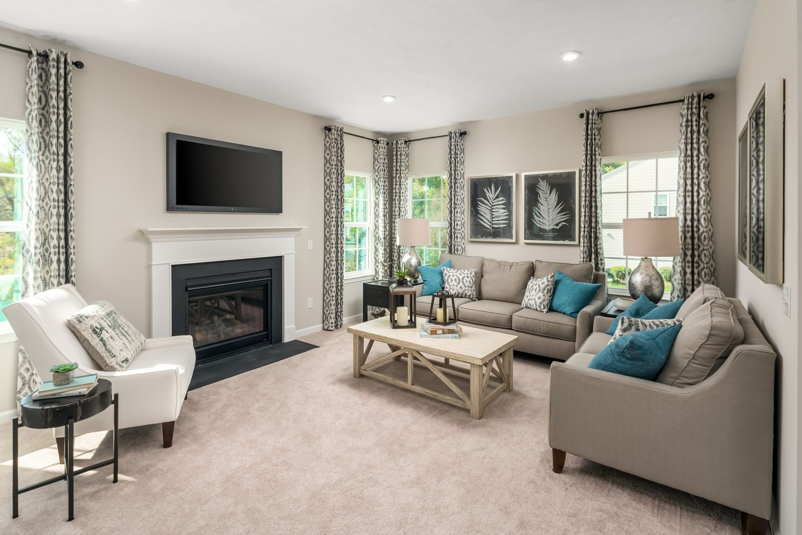 Living Area featured in the Allegheny By Ryan Homes in Columbus, OH