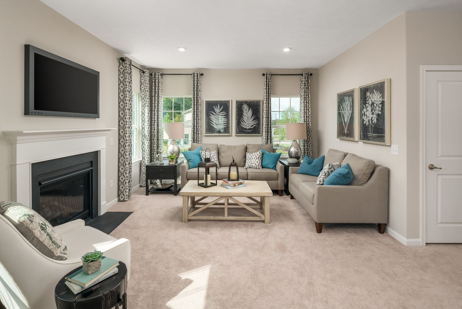 Living Area featured in the Allegheny By Ryan Homes in Dayton-Springfield, OH