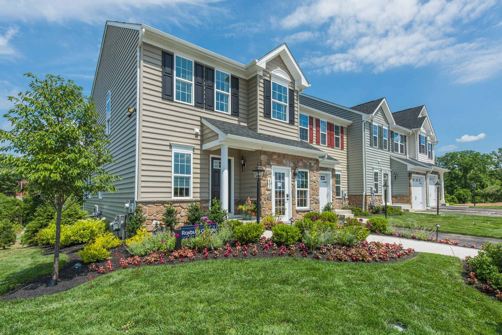 'The Preserve at Deep Creek 2-Story Townhomes' by Ryan Homes-DEL in Wilmington-Newark