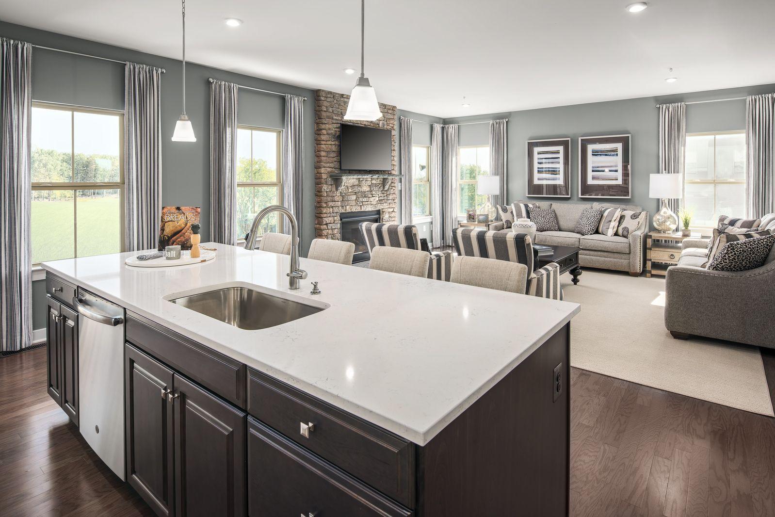 Living Area featured in the Roanoke By Ryan Homes in Philadelphia, NJ