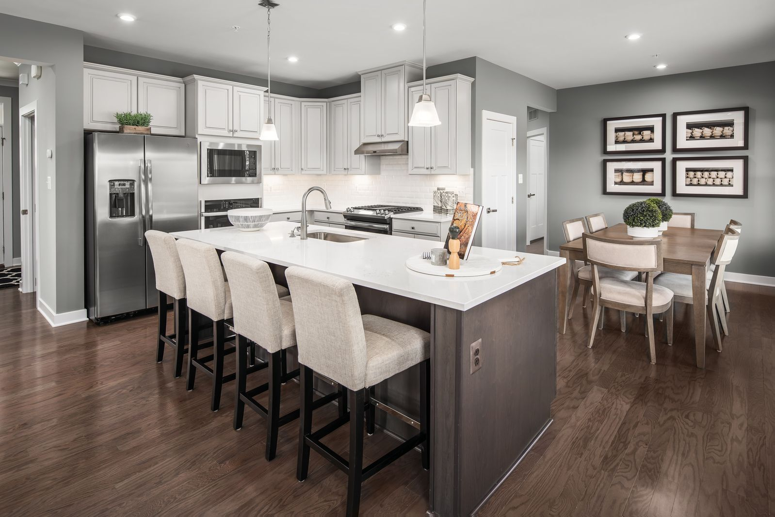 Kitchen featured in the Roanoke By Ryan Homes in Harrisburg, PA