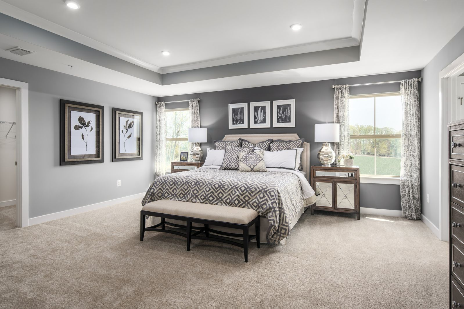 Bedroom featured in the Roanoke By Ryan Homes in Philadelphia, NJ