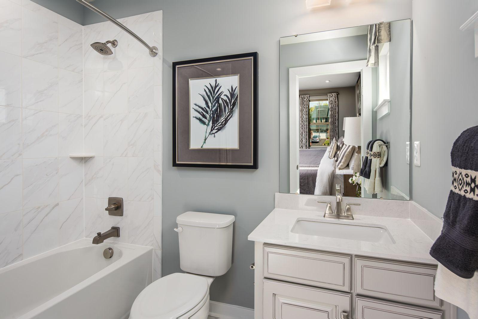 Bathroom featured in the Roanoke By Ryan Homes in Philadelphia, NJ