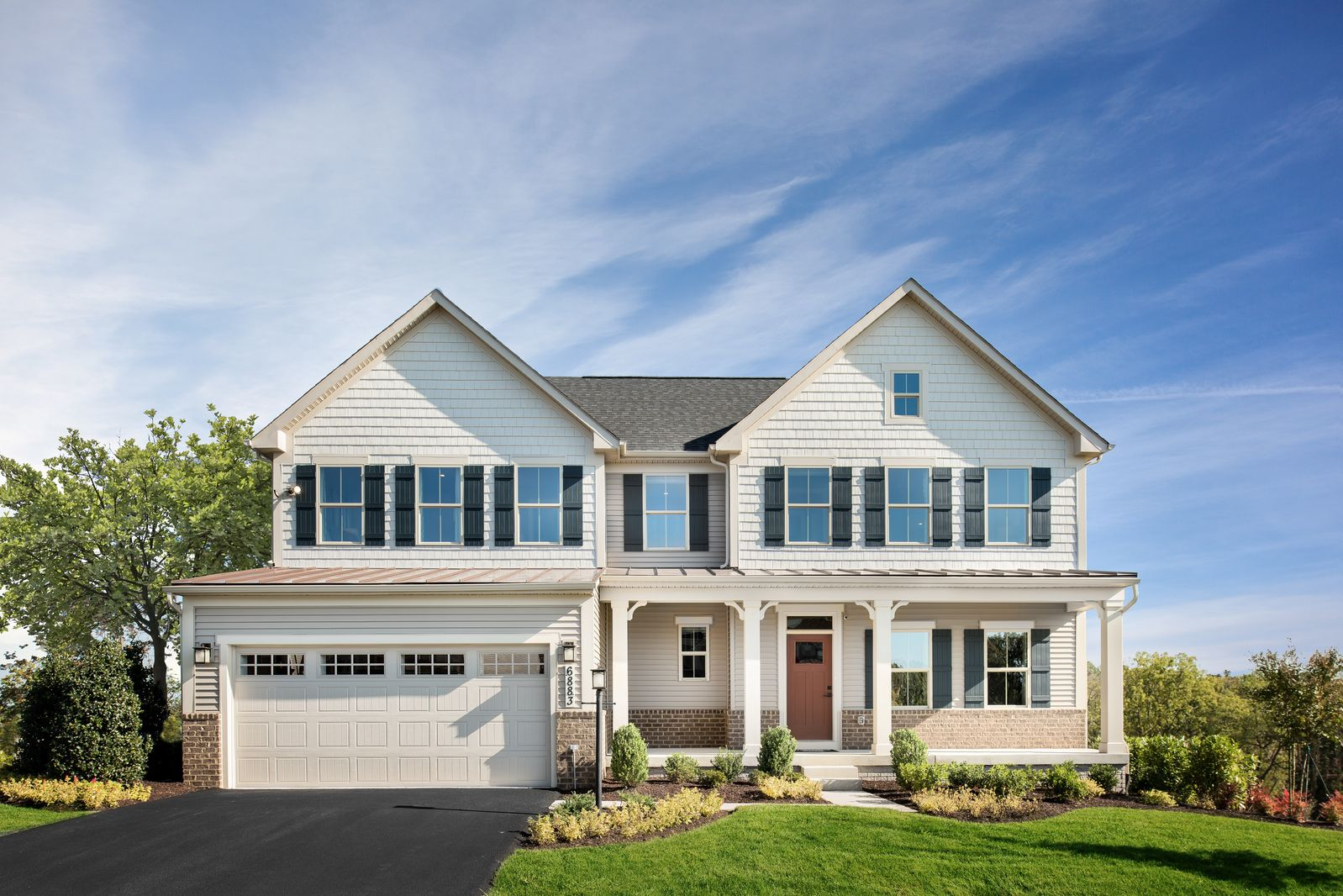 Exterior featured in the Roanoke By Ryan Homes in Ocean City, MD