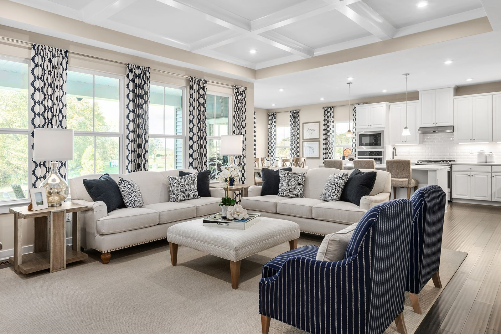Living Area featured in the Cumberland By Ryan Homes in Cleveland, OH