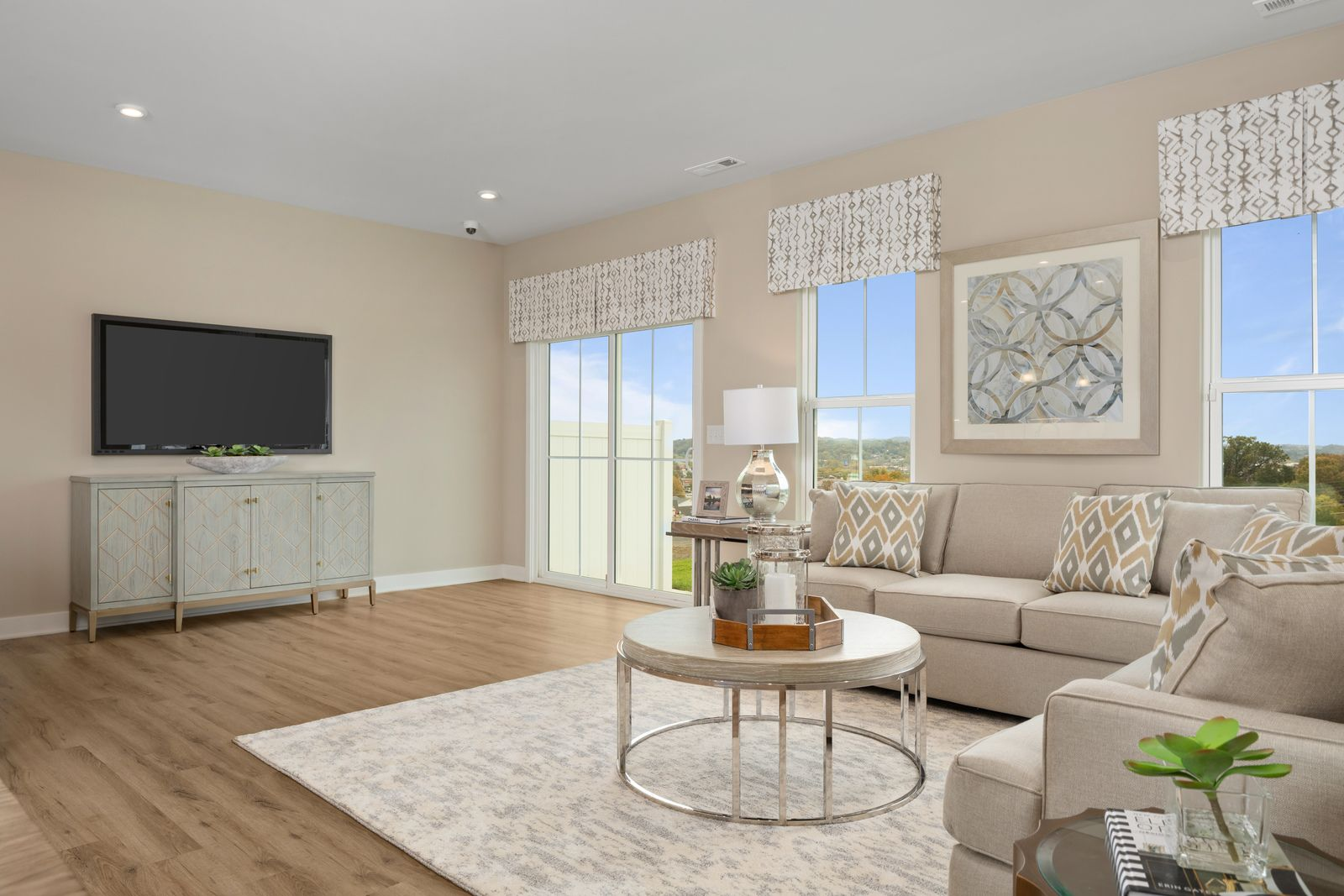 Living Area featured in the Roxbury By Ryan Homes in Buffalo-Niagara Falls, NY
