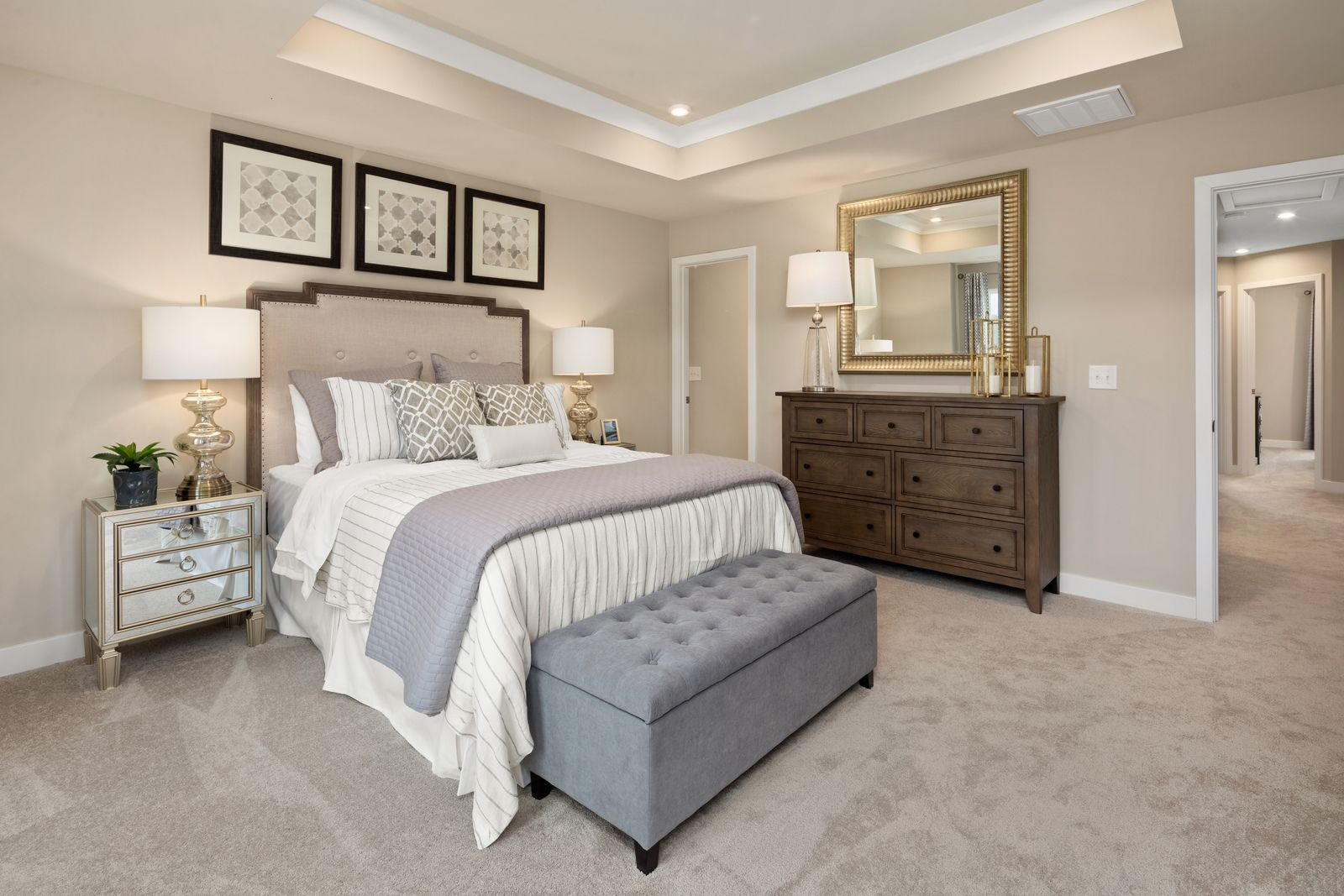 Bedroom featured in the Roxbury Grand By Ryan Homes in Buffalo-Niagara Falls, NY