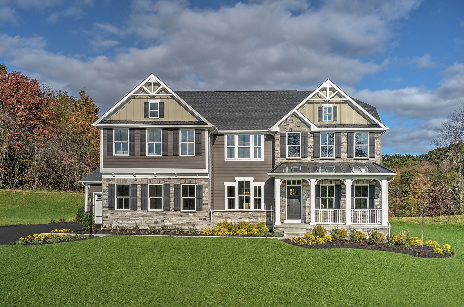 Exterior featured in the Corsica By Ryan Homes in Philadelphia, PA
