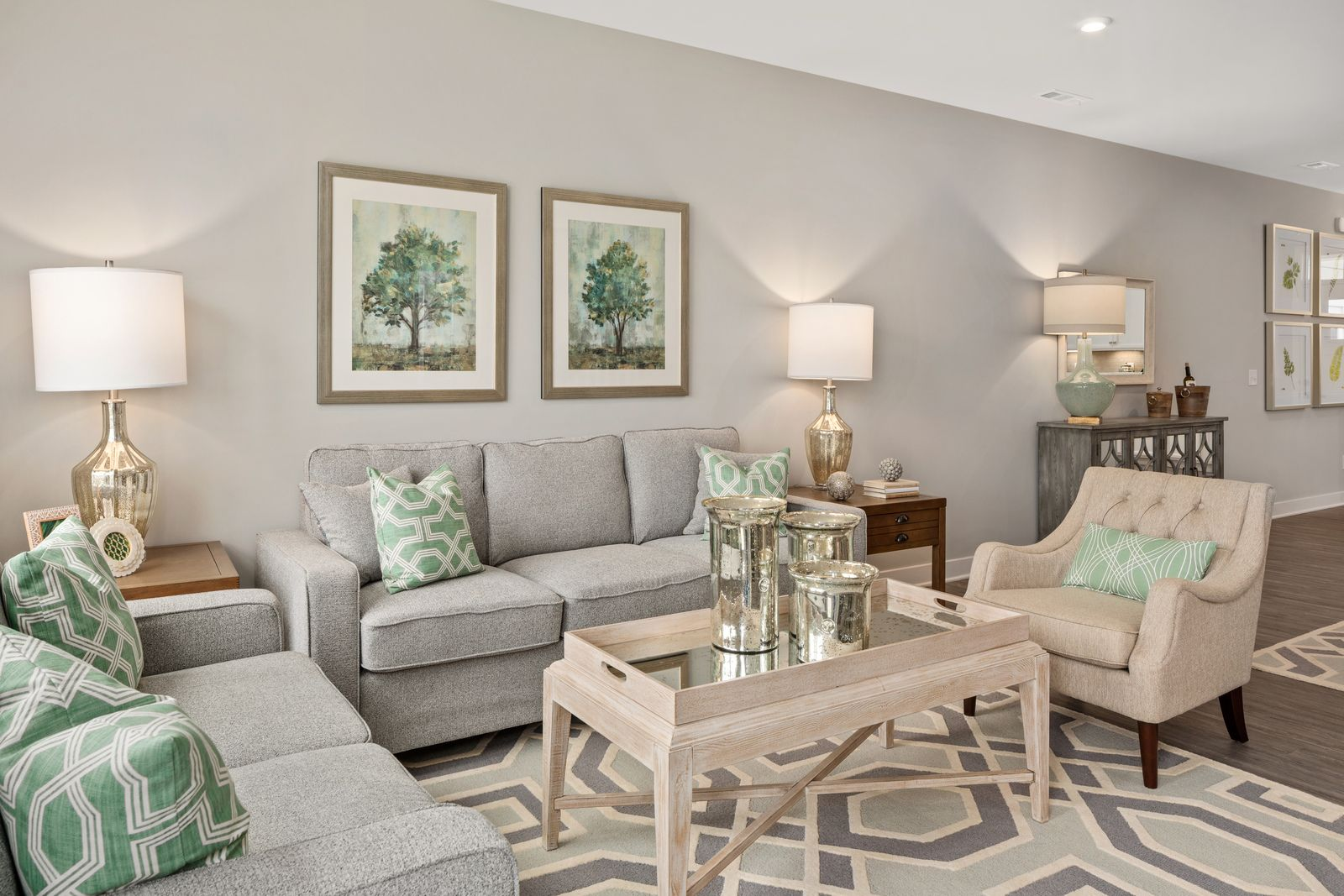Living Area featured in the Calvert By Ryan Homes in Cincinnati, OH