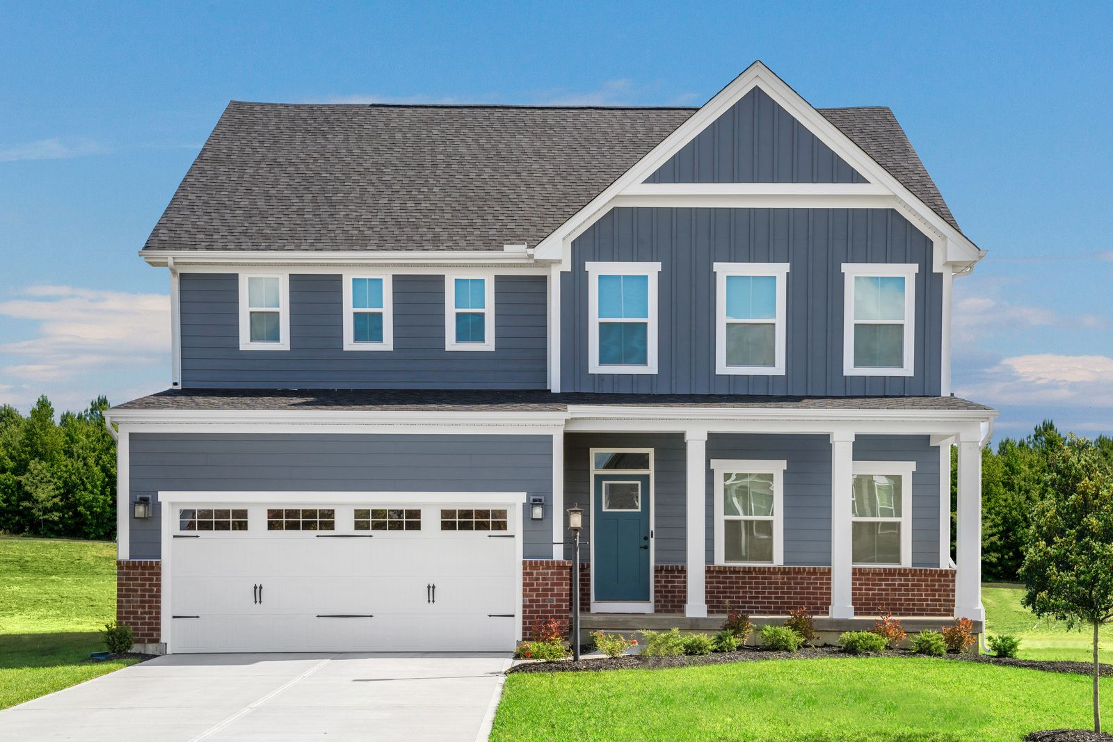 Exterior featured in the Lehigh w/ Finished Lower Level By Ryan Homes in Cincinnati, OH