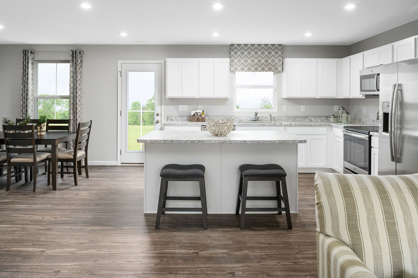 Kitchen featured in the Cedar By Ryan Homes in Harrisonburg, VA
