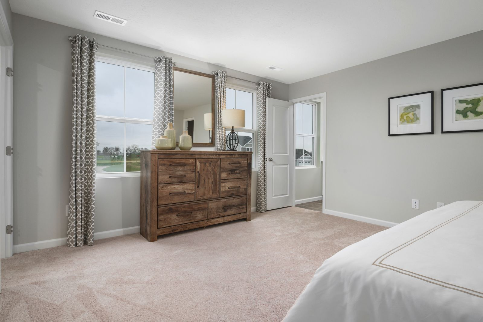 Bedroom featured in the Cedar By Ryan Homes in Harrisonburg, VA