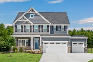 Lehigh 3 Car Garage - Two Rivers - All Ages Single Family Homes: Odenton, Maryland - Ryan Homes