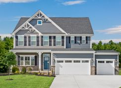 Lehigh 3 Car Garage - Two Rivers - All Ages Single Family Homes: Odenton, District Of Columbia - Ryan Homes