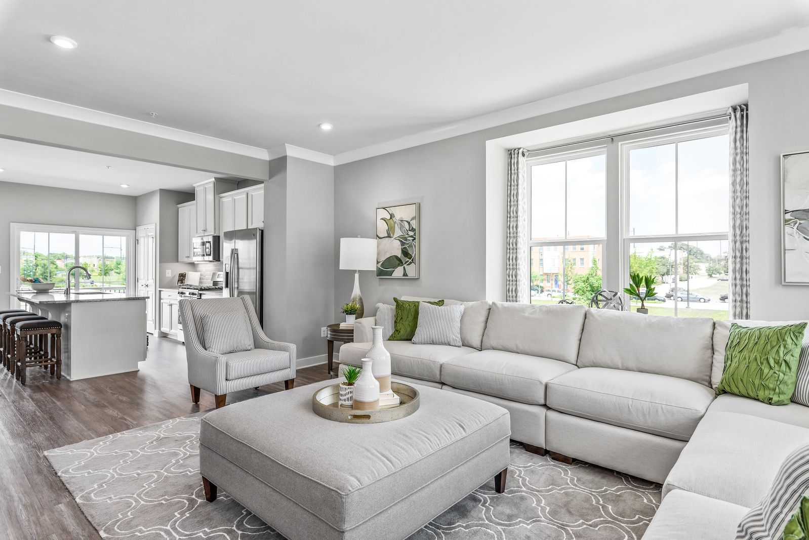 Living Area featured in the Mozart By Ryan Homes in Charlotte, NC