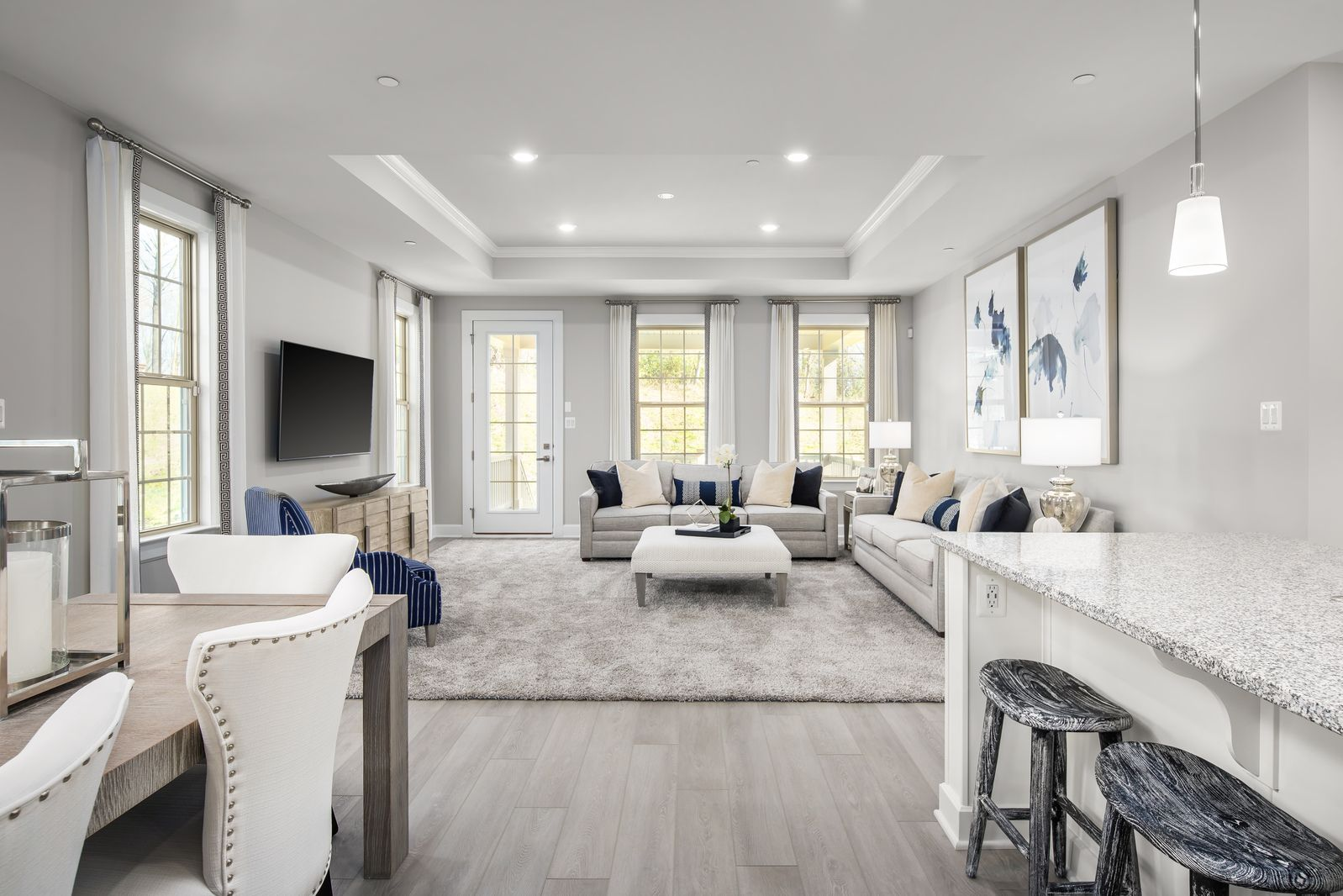 Living Area featured in the Albright By NVHomes in Philadelphia, PA