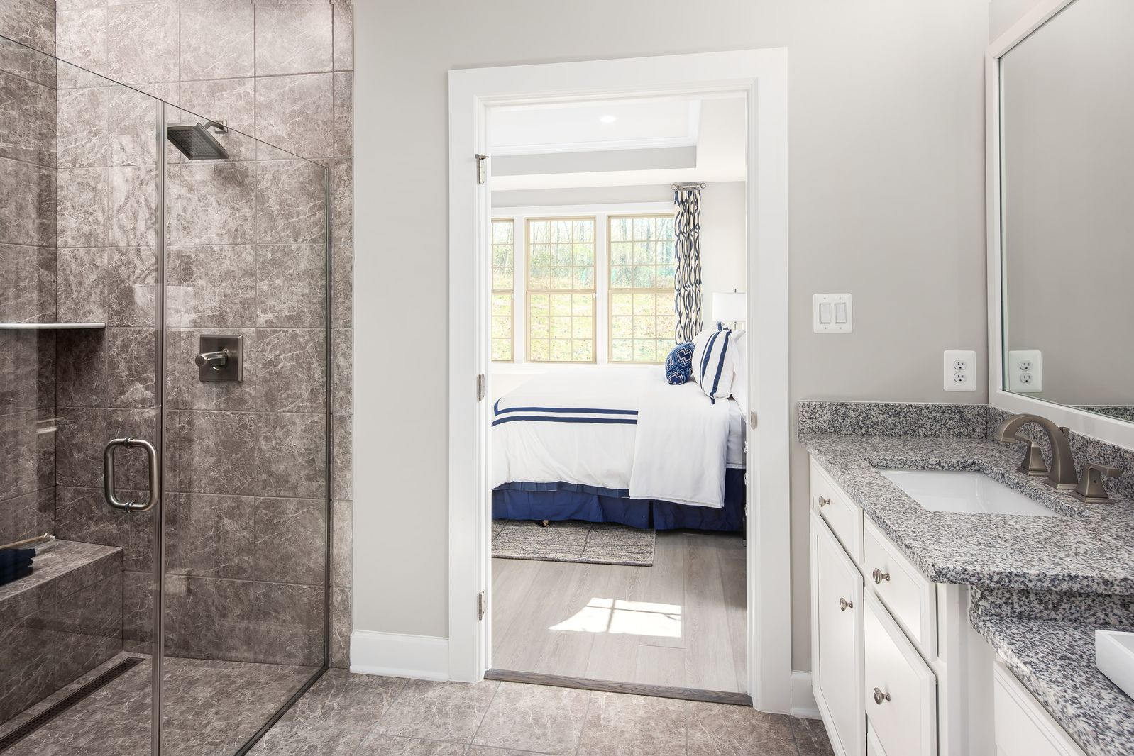 Bathroom featured in the Albright By NVHomes in Philadelphia, PA