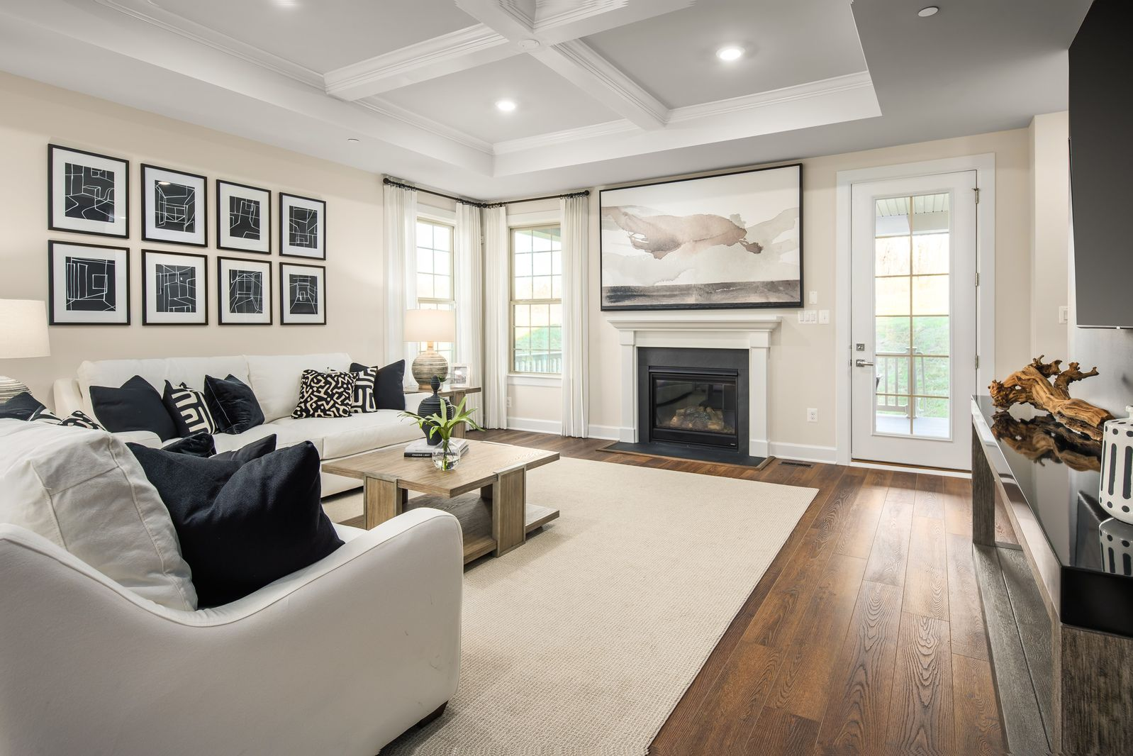 Living Area featured in the Davenport By NVHomes in Washington, MD