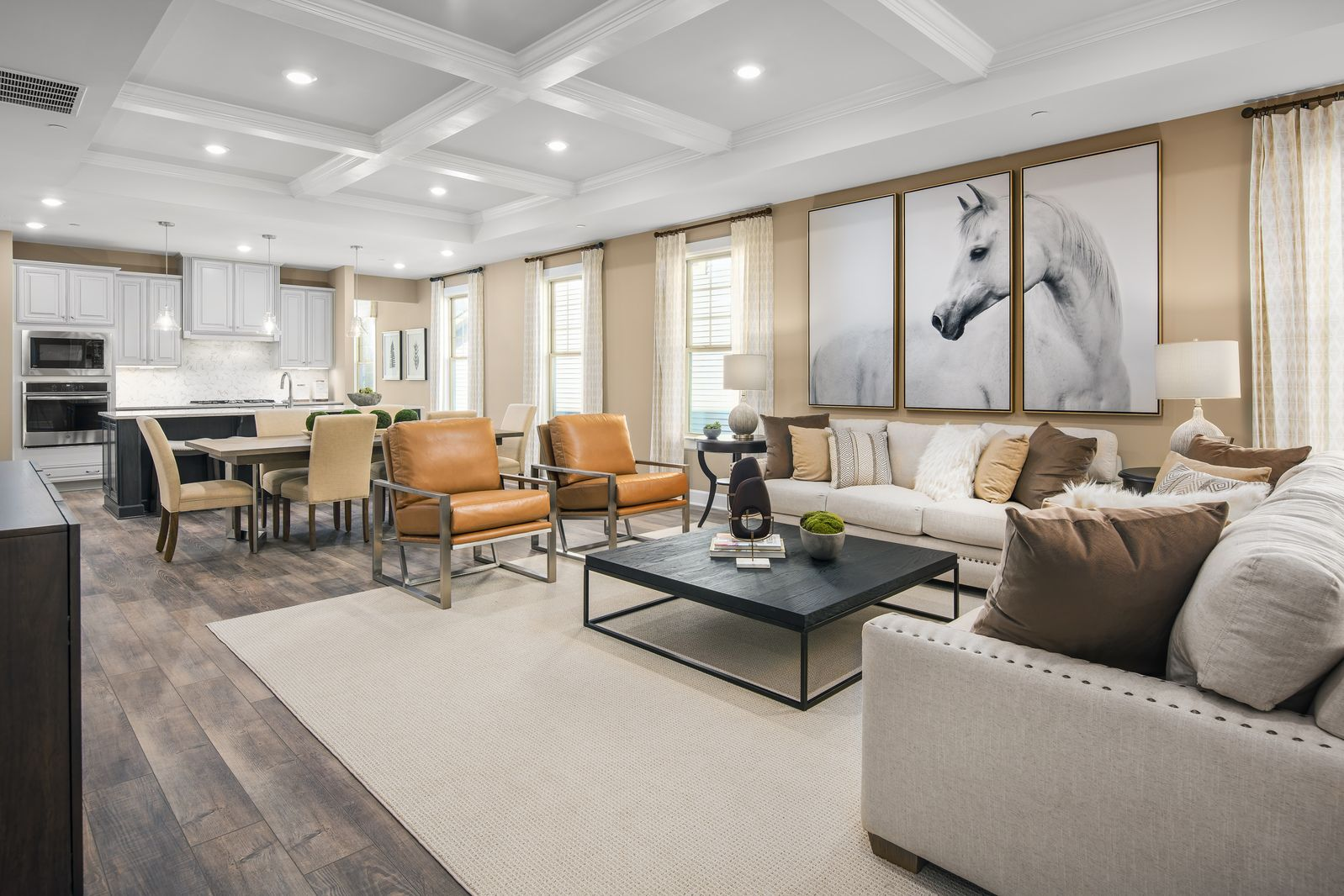 Living Area featured in the Bennington By NVHomes in Philadelphia, PA
