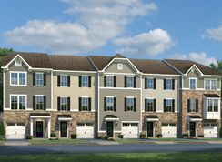 Beethoven - Townes At Haddon Point by Haddon Point Urban Renewal II, LLC: Pennsauken, Pennsylvania - Ryan Homes
