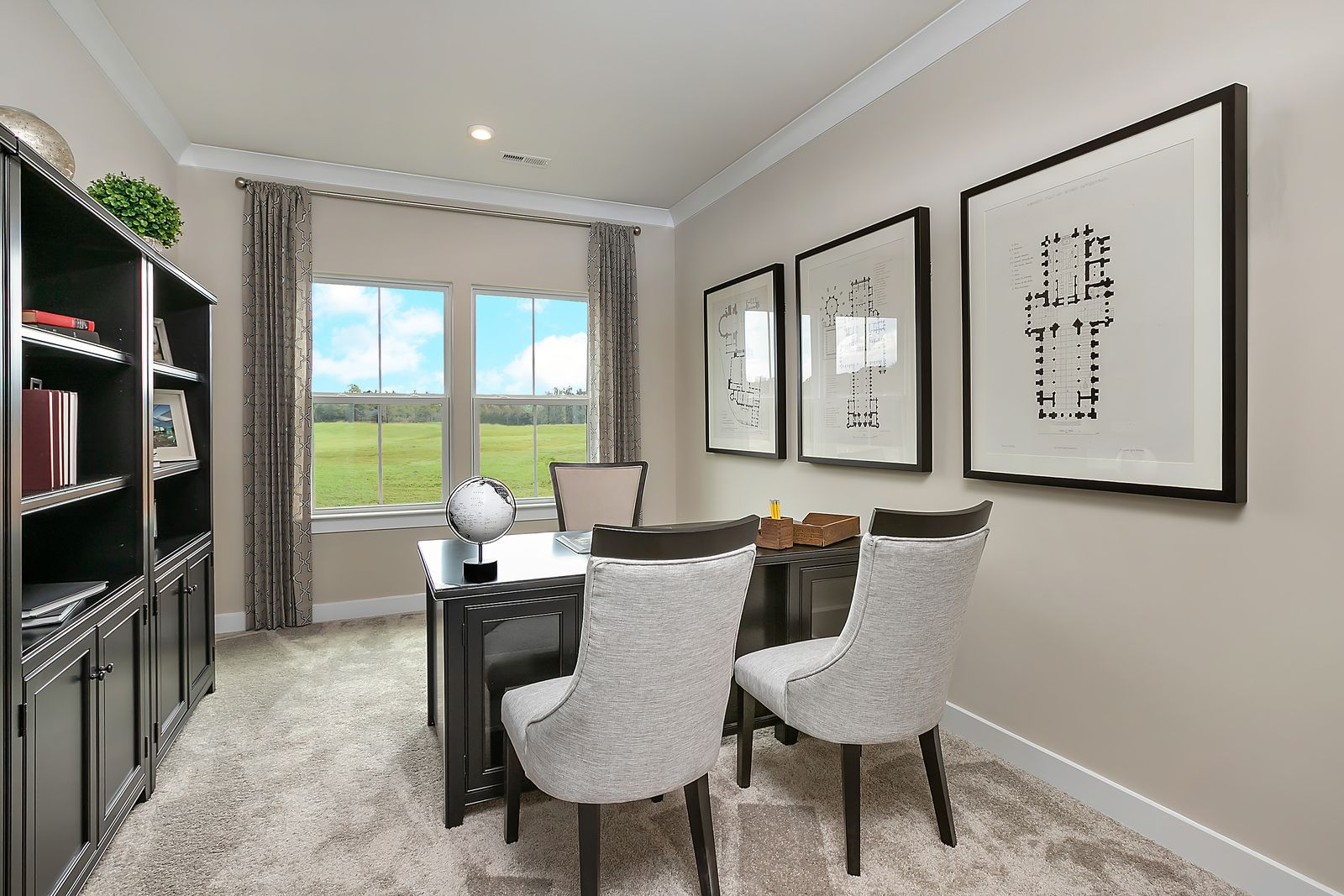 Living Area featured in the Bramante By Ryan Homes in Sussex, DE