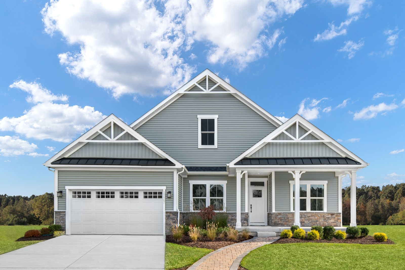 Exterior featured in the Ashbrooke By Ryan Homes in Cleveland, OH