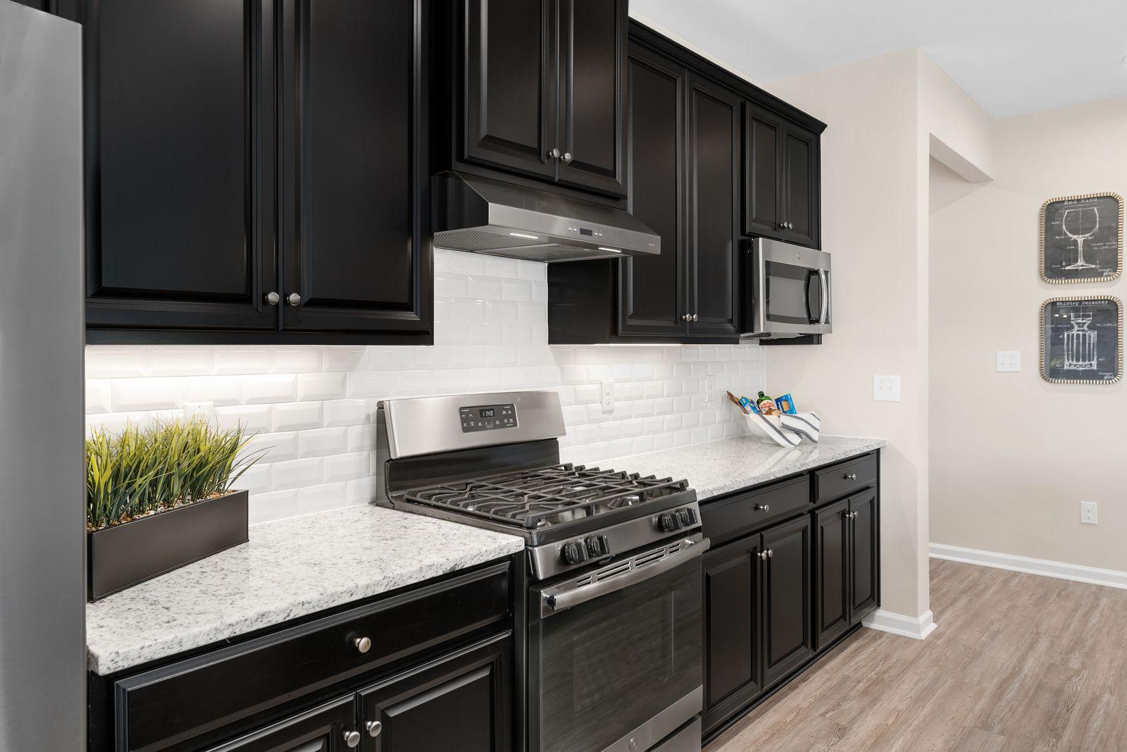Kitchen featured in the Palladio By Ryan Homes in Warren County, NJ