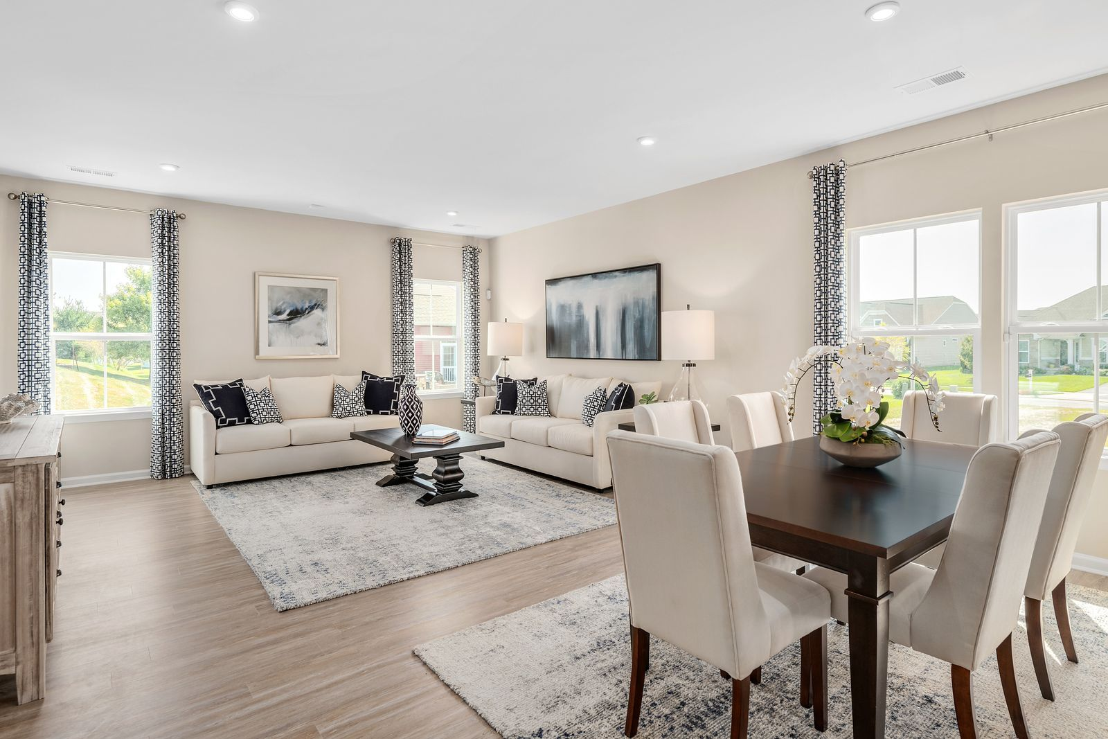 Living Area featured in the Palladio Ranch w/ Finished Lower Level By Ryan Homes in Cincinnati, OH