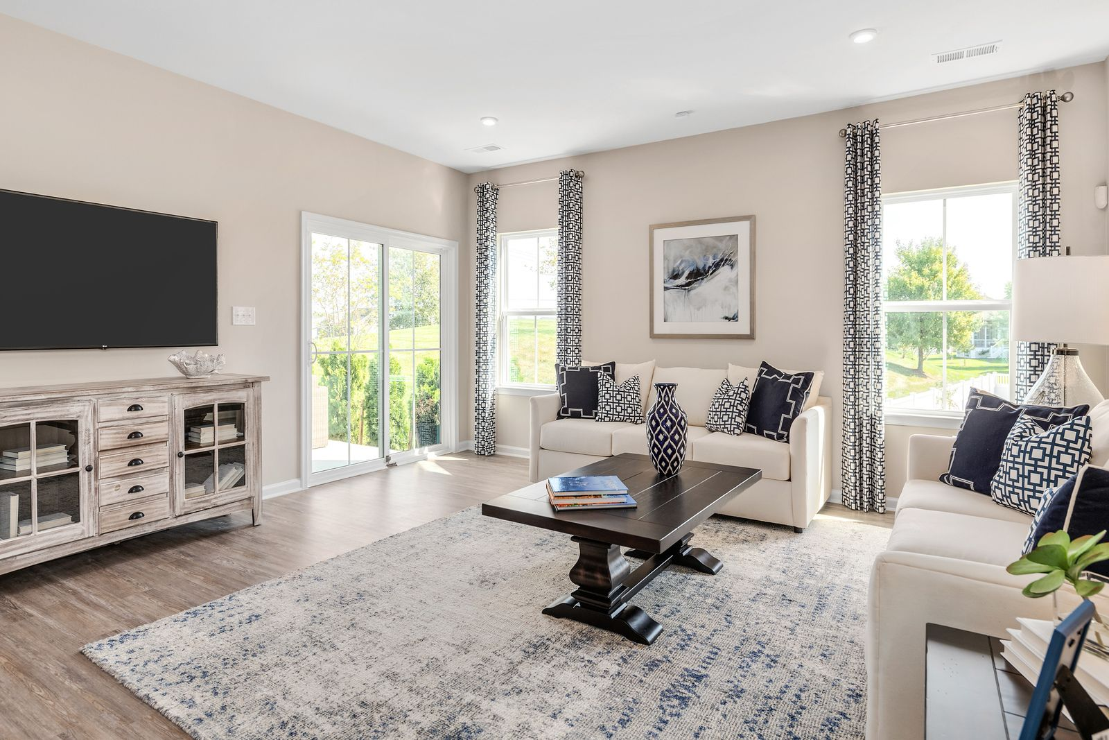 Living Area featured in the Palladio Ranch By Ryan Homes in Warren County, NJ