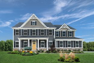 Normandy w/ Finished Basement - Carriage Trails 2-Story: Tipp City, Ohio - Ryan Homes