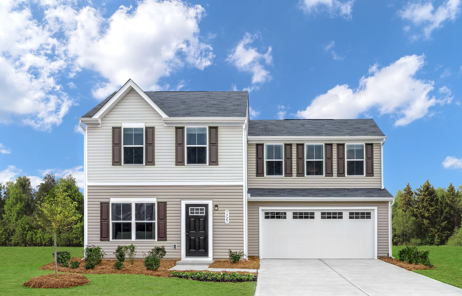 Exterior featured in the Aspen By Ryan Homes in Raleigh-Durham-Chapel Hill, NC