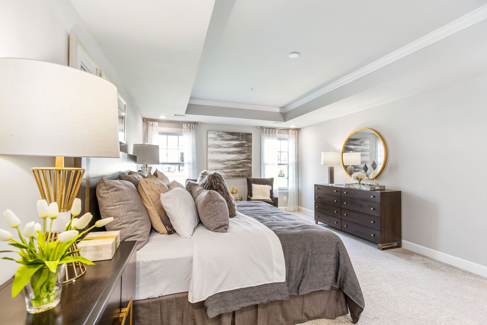 Bedroom featured in the Merion By NVHomes in Philadelphia, PA