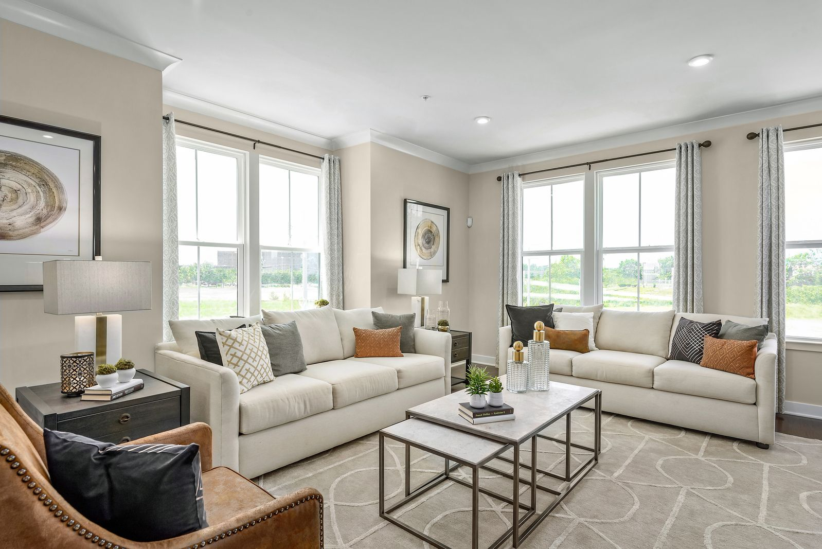Living Area featured in the Strauss By Ryan Homes in Baltimore, MD