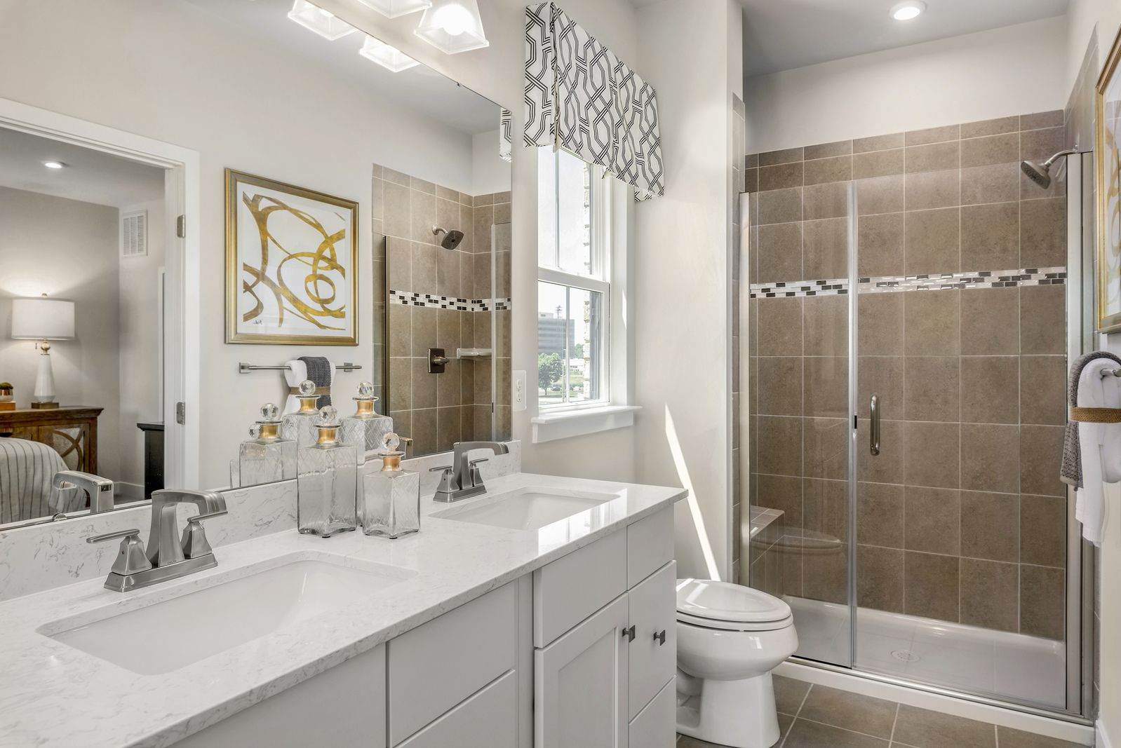 Bathroom featured in the Strauss By Ryan Homes in Philadelphia, NJ