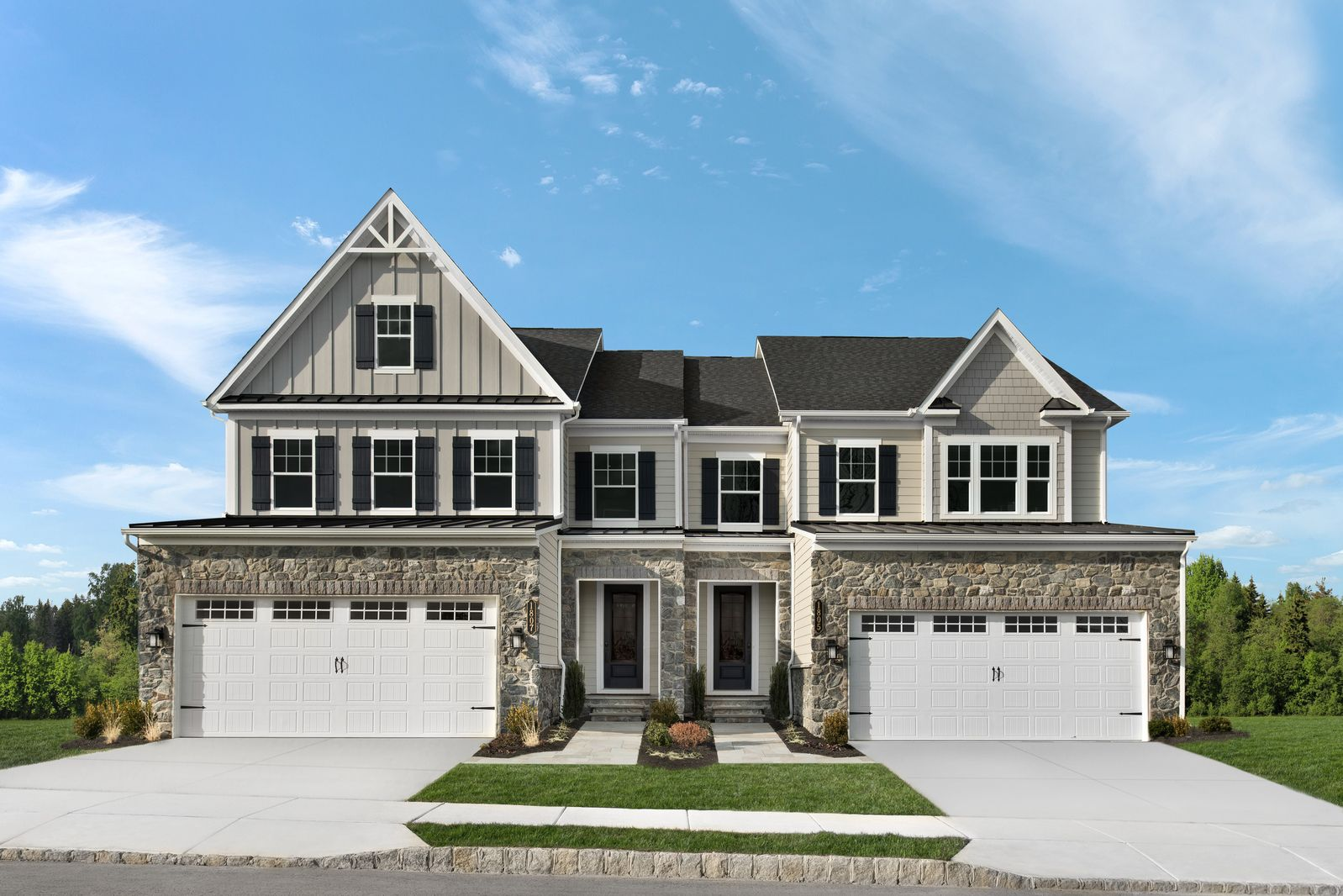 Exterior featured in the Haverford A By NVHomes in Philadelphia, PA