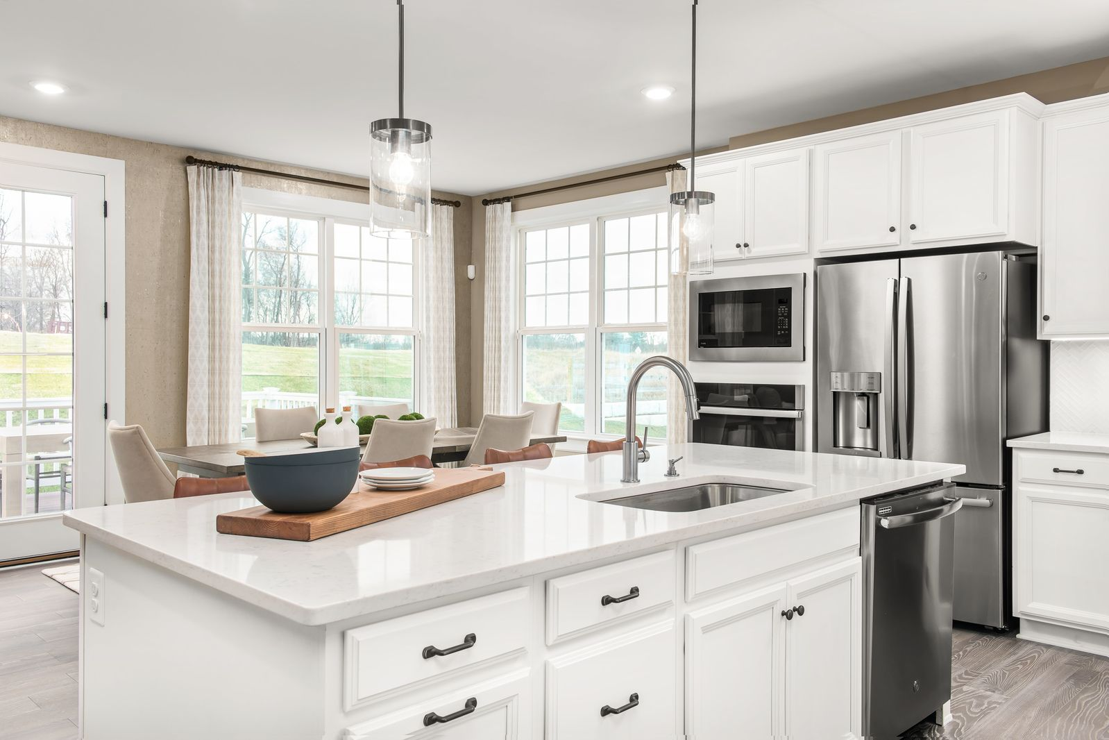 Kitchen featured in the Haverford A By NVHomes in Philadelphia, PA