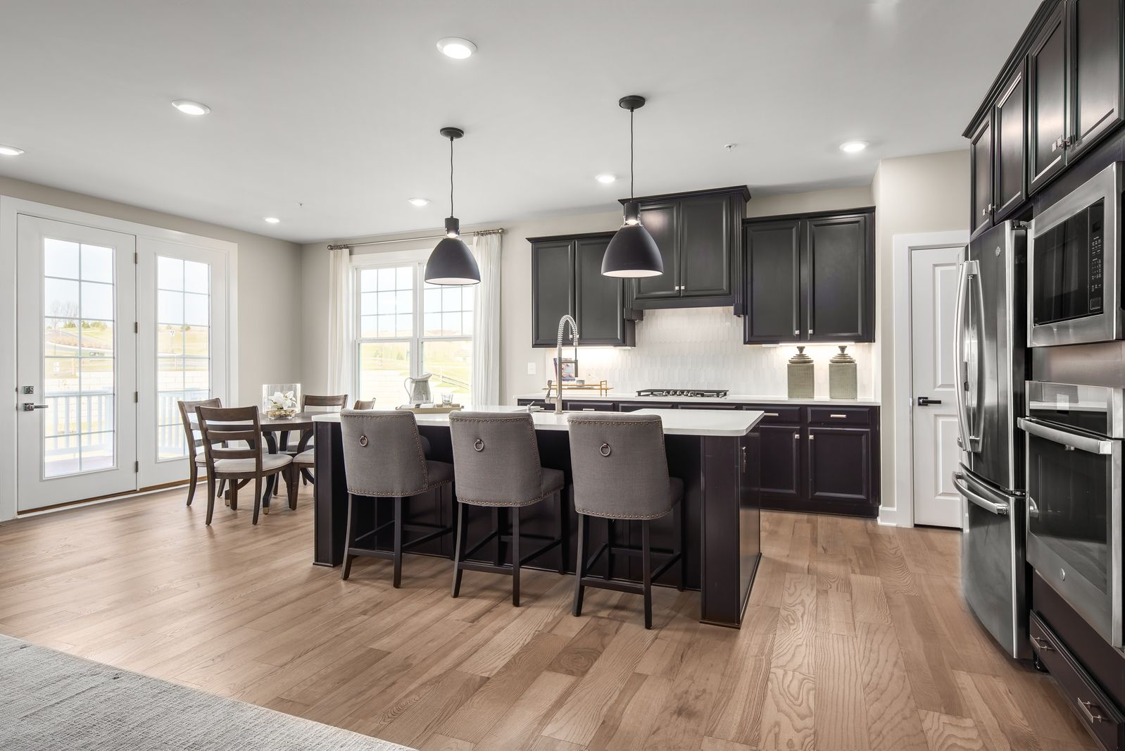 Kitchen featured in the Northshire A By NVHomes in Philadelphia, PA