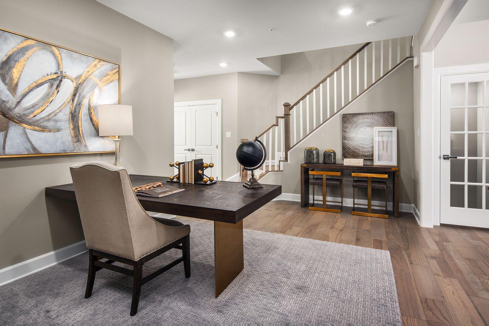 Living Area featured in the Northshire A By NVHomes in Philadelphia, PA