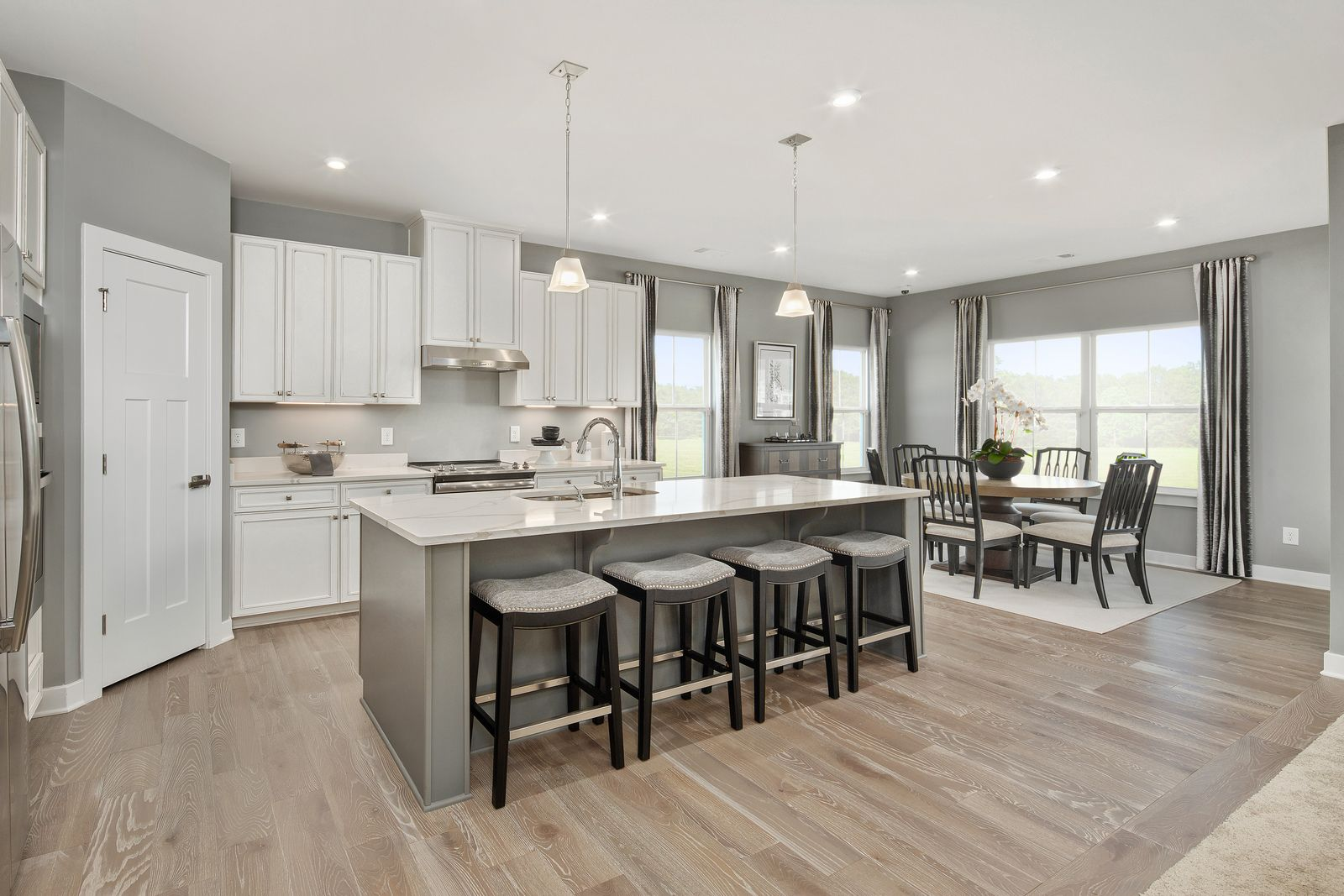 Kitchen featured in the Savannah By Ryan Homes in Sussex, DE