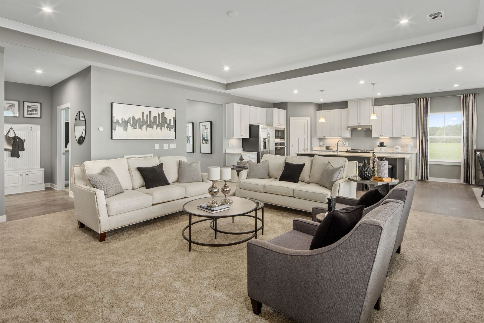Living Area featured in the Savannah By Ryan Homes in Baltimore, MD