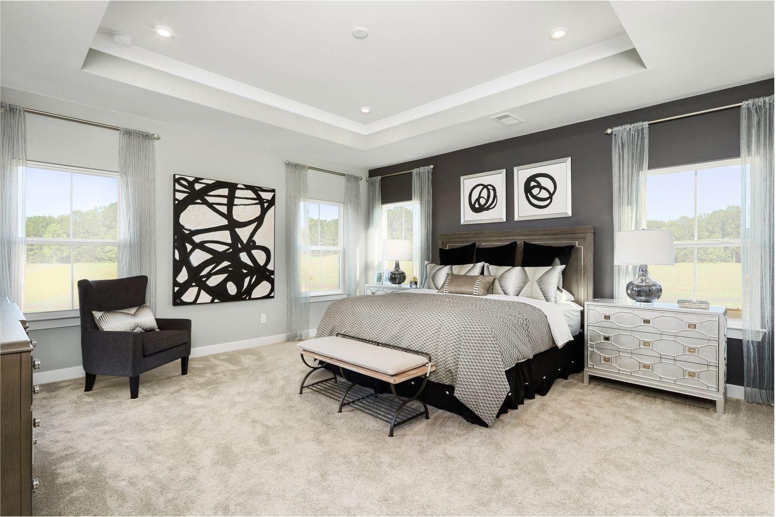 Bedroom featured in the Savannah By Ryan Homes in Sussex, DE