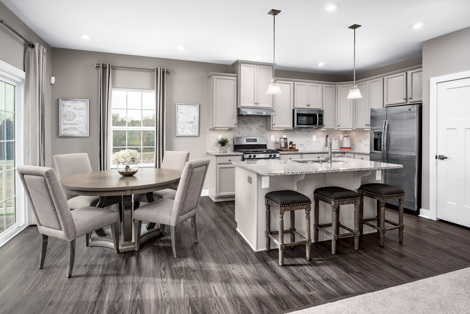 Kitchen featured in the Alberti By Ryan Homes in Warren County, NJ