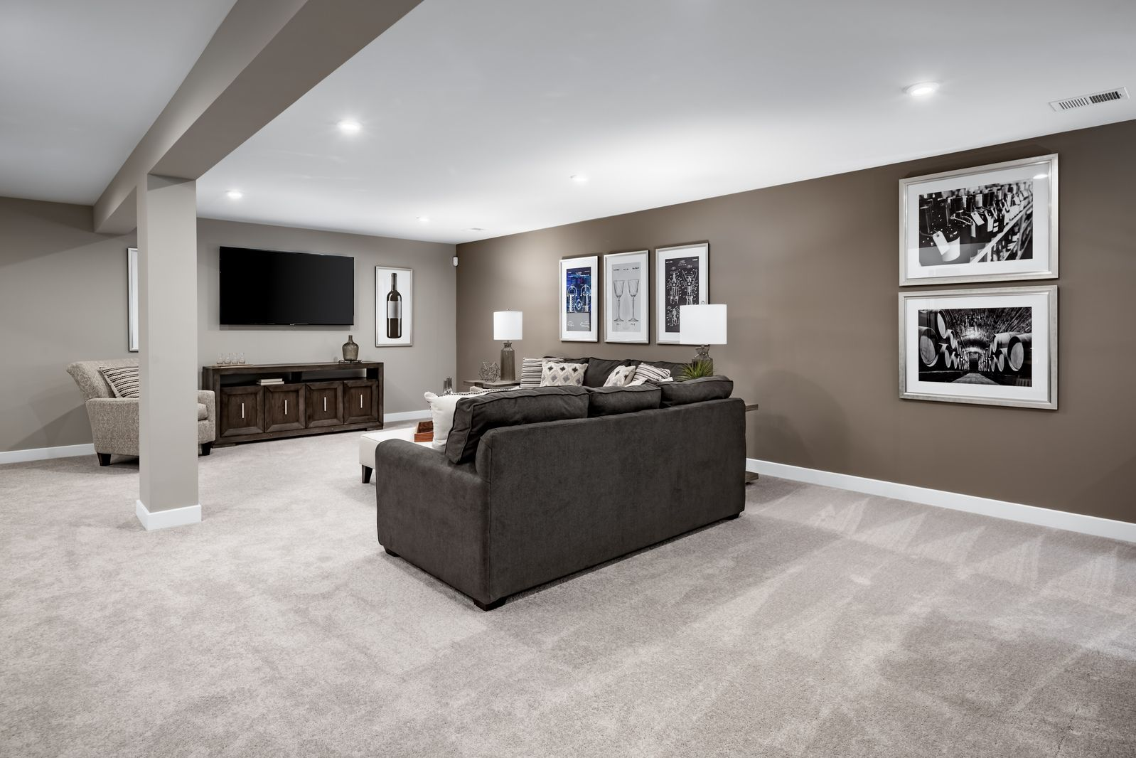 Living Area featured in the Alberti By Ryan Homes in Warren County, NJ