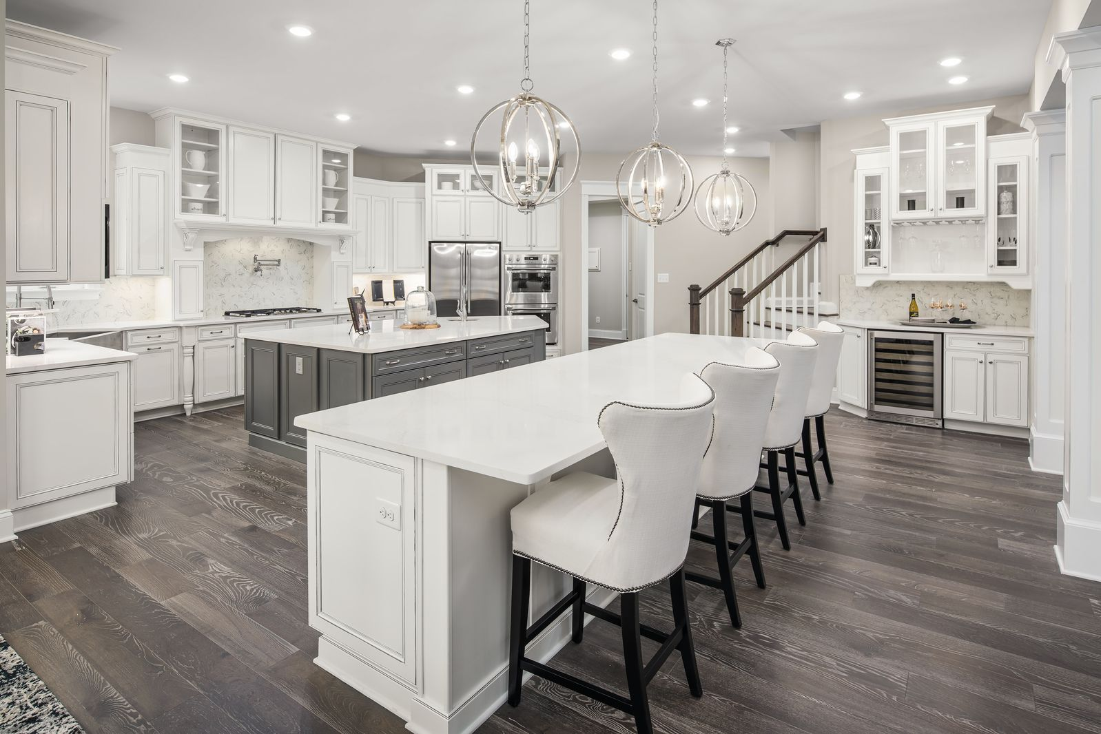 Kitchen featured in the Clifton Park II By NVHomes in Philadelphia, PA