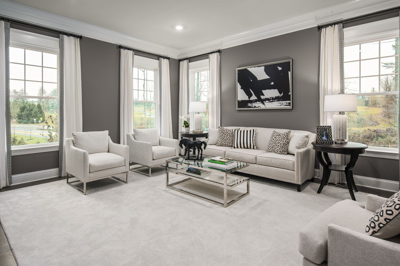 Living Area featured in the Clifton Park II By NVHomes in Philadelphia, PA