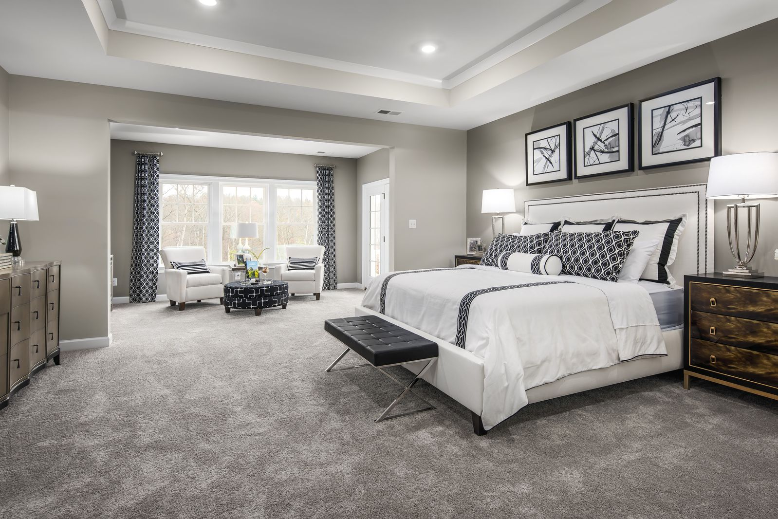 Bedroom featured in the Clifton Park II By NVHomes in Philadelphia, PA