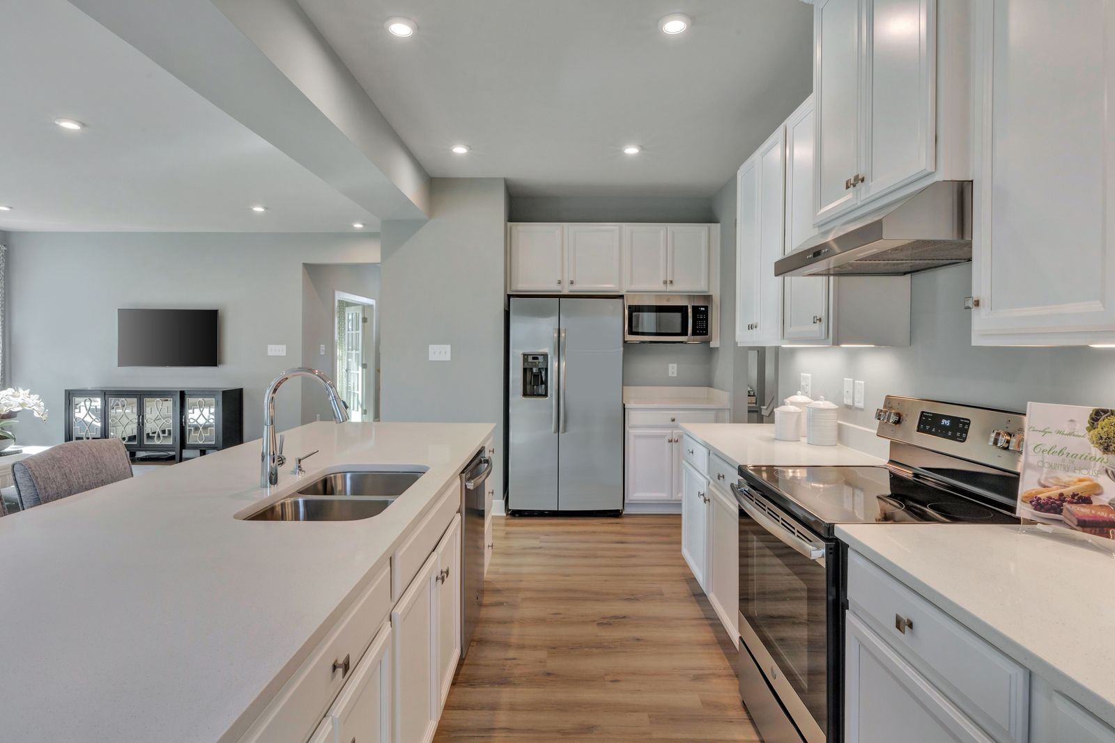 Kitchen featured in the Hudson By Ryan Homes in Philadelphia, NJ