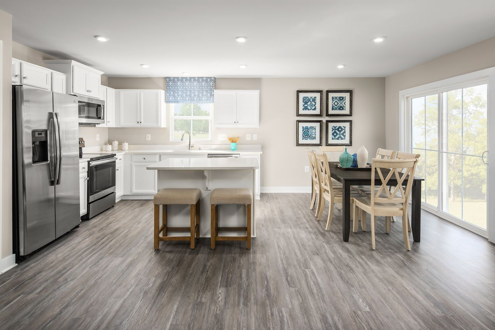 Kitchen featured in the Bahama By Ryan Homes in Cleveland, OH