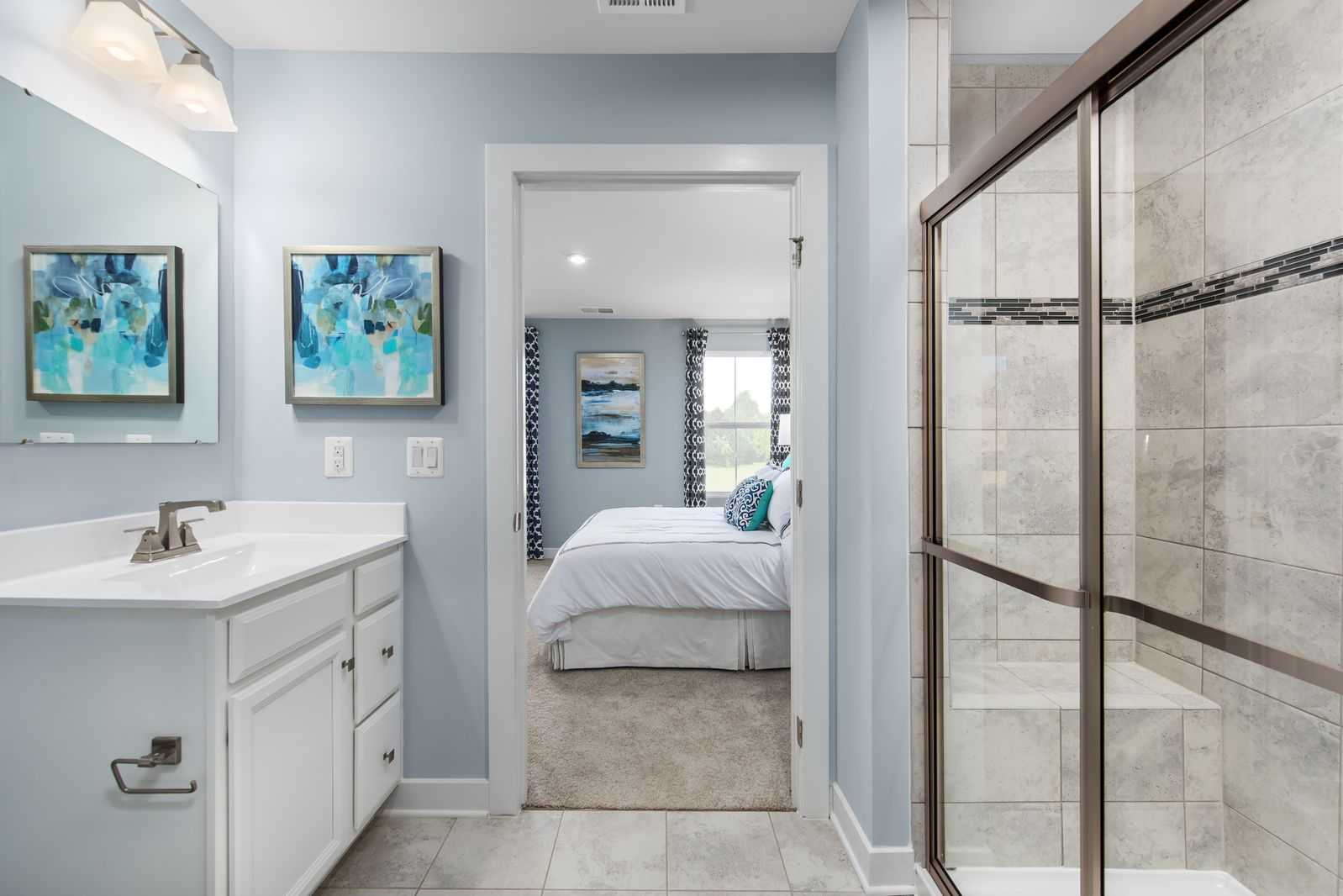 Bathroom featured in the Bahama By Ryan Homes in Rochester, NY