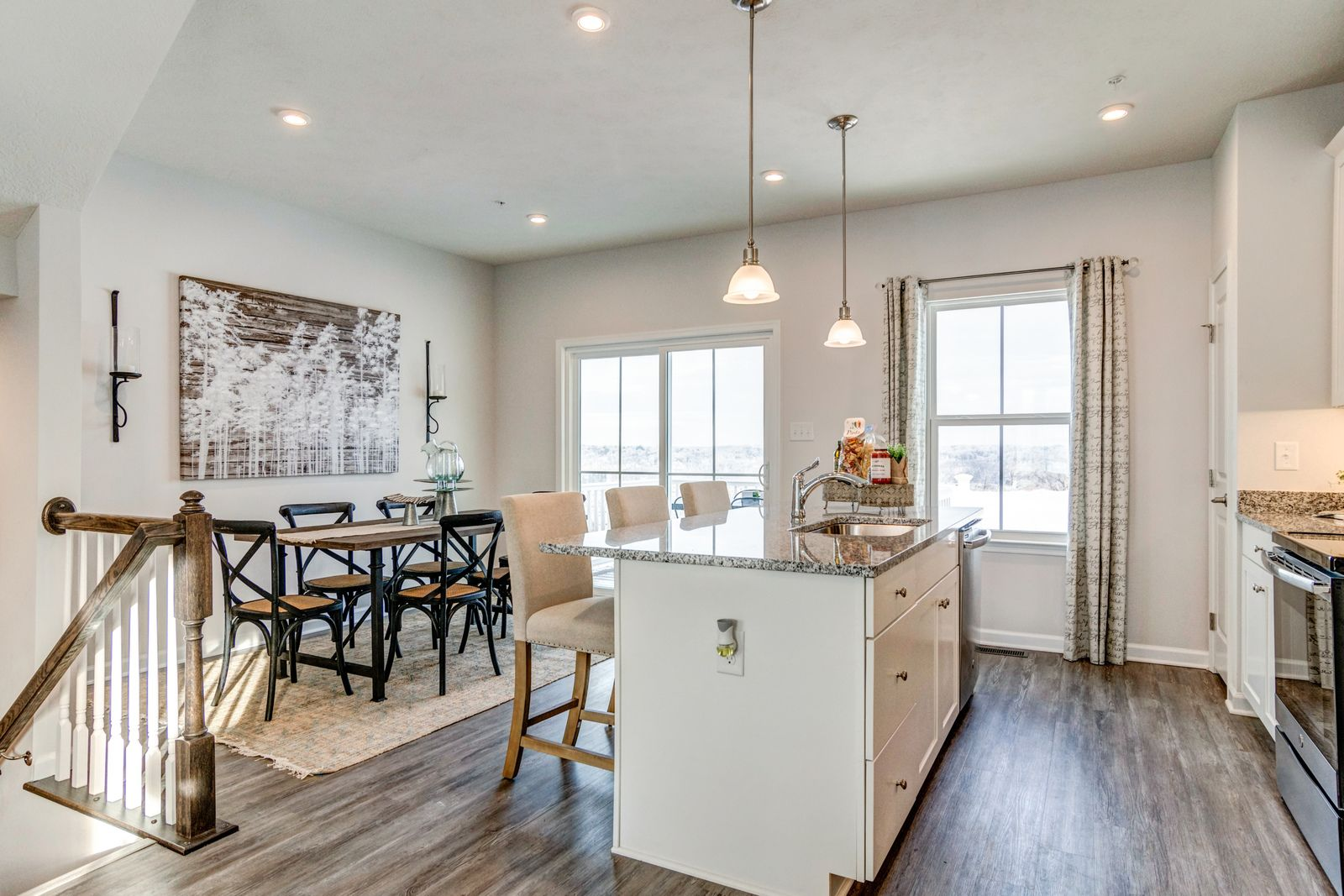 Kitchen featured in the Beethoven 3-Story By Ryan Homes in Raleigh-Durham-Chapel Hill, NC